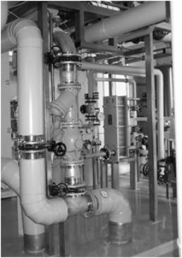 Litherm-TEK piping and heat exchanger